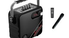 Oyılıty T-5 EL 5 inç Hoparlör 30W Taşınabilir Ses Sistemi (El Mikrofonu)