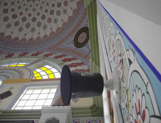 Avrupada birçok kilise ve ibadethanelerde ve Türkiyede camilerde uygulanmış ve en kaliteli vokal hoparlör.