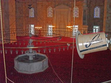 Türkiyenin sayılı camilerinden olan Sarayburnu Camisi, 57 adet ARP hoparlörlerle seslendirilmiştir. Özel uygulamayla ARP 150 hoparlör, caminin taş rengi ile dizayn edilerek, camide hoparlörlerin görünmemesi sağlanmıştır